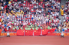 北京野外比赛研了paralympic跟踪 库存图片