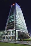 北京银行在晚上,北京,中国总部设 库存照片