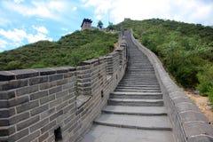 北京长城 免版税库存图片