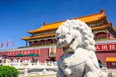 北京门天安门 库存图片