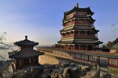 北京颐和园,中国 图库摄影