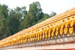 北京,中国- 2015年10月18日:在寺庙的屋顶地球(Ditan) A 免版税图库摄影