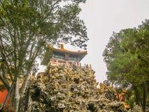 北京紫禁城女皇零件 免版税库存图片