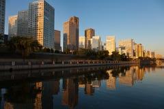 北京cbd地平线 免版税库存照片