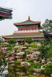 北京gardenexpo公园 免版税库存照片