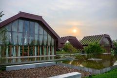 北京gardenexpo公园 免版税图库摄影