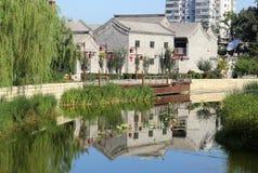 北京Histroic阿勒里 免版税图库摄影