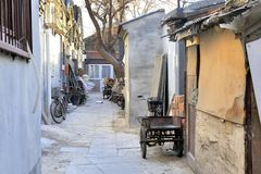北京hutong 库存图片
