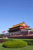 北京s天安门 免版税库存照片