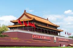 北京tian门的人 库存照片
