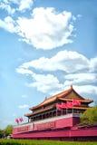 北京tian门的人 图库摄影
