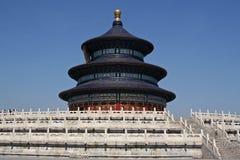 北京tiantan天堂的寺庙 免版税库存图片