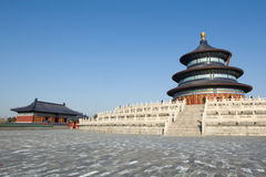 北京tiantan天堂的寺庙 库存照片