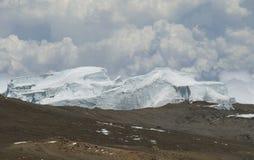 北冰原冰的kilimanjaro 免版税图库摄影