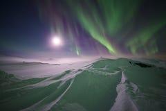 北冰的冬天 免版税图库摄影