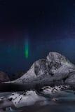 北冰的夜 免版税库存图片