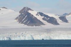 北冰的横向 免版税库存图片