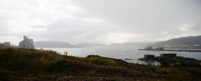 北冰洋的港口 免版税库存图片