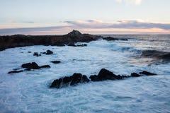 北加利福尼亚海岸 库存照片