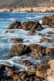 北加利福尼亚海岸 免版税库存照片