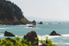 北加利福尼亚海岸 库存图片