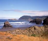 北加利福尼亚的海岸 免版税图库摄影