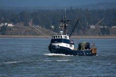 北加利福尼亚的渔船 免版税库存照片
