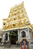 北印度的寺庙前门 免版税库存照片