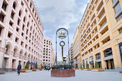 北大道,耶烈万,亚美尼亚 库存图片