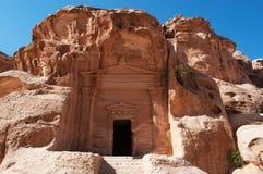 北大, Beidah, Beidha, Petra考古学公园,约旦,中东 库存照片