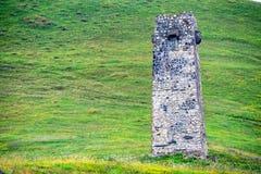 北奥塞梯的古老Alanian大墓地 免版税库存图片