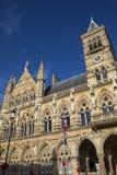 北安普顿市政厅 免版税库存照片