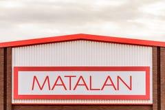 北安普顿英国2017年10月29日:Matalan商标签到Sixfields零售公园 免版税库存照片