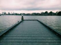 北小船 库存照片