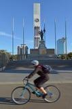 北帕莫斯顿-新西兰-正方形 库存图片
