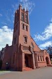 北帕莫斯顿-新西兰-诸圣日英国国教的教堂 免版税库存图片