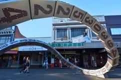 北帕莫斯顿-新西兰 免版税库存照片