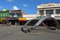北帕莫斯顿-新西兰 免版税库存图片