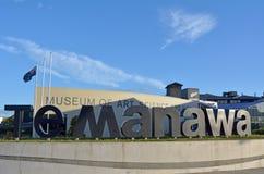 北帕莫斯顿-新西兰- Te Manawa博物馆 免版税图库摄影