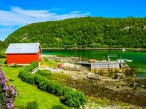 北挪威 库存图片