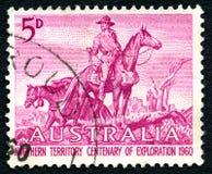 北方领土百年探险1960年 免版税库存图片
