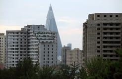 北朝鲜的住所2013年 库存照片