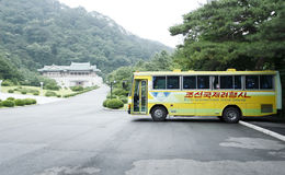 北朝鲜的风景点 库存图片