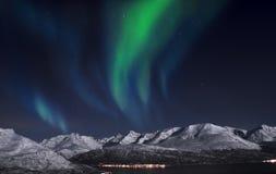 北极光。 免版税图库摄影