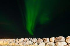 北极光在冰岛 免版税图库摄影