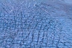 北极冰川。冰和寒冷。区域新地岛 库存照片