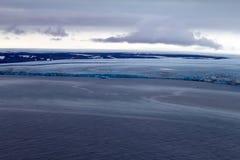北极冰川。 库存照片
