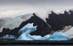北极冰川 免版税图库摄影