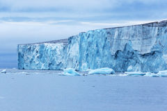 北极冰川 图库摄影