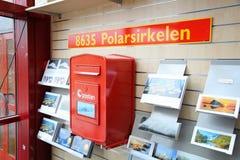 北极圈邮箱 免版税库存图片